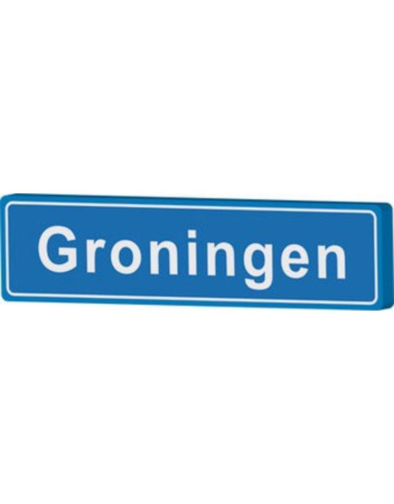 Groningen place name sign