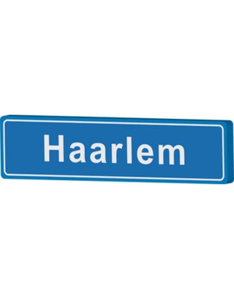 Haarlem cartel de entrada ciudad