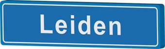 Leiden plaatsnaambord