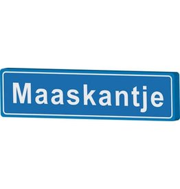 Town sign Maaskantje