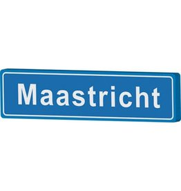 Town sign Maastricht