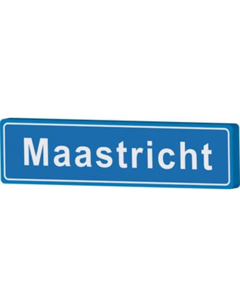 Señal entrada a población Maastricht