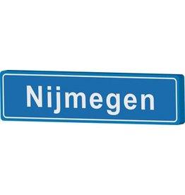 Señal entrada a población Nijmegen