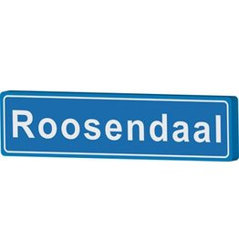 Roosendaal place name sign