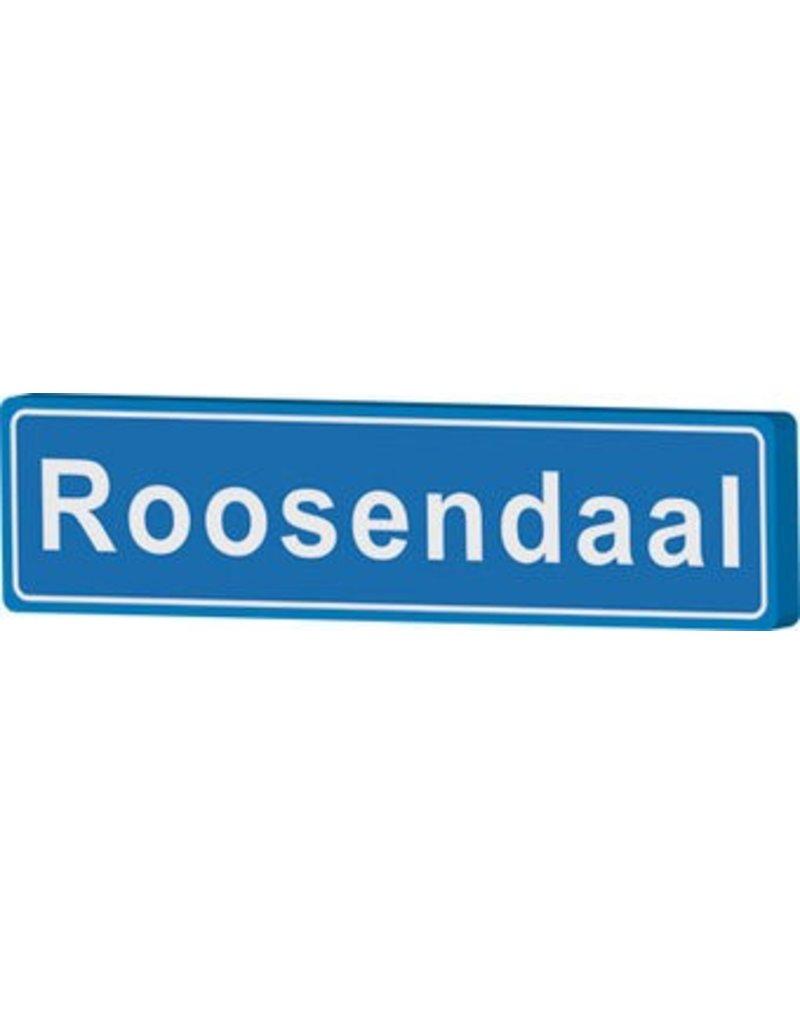 Roosendaal cartel de entrada ciudad
