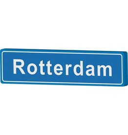 Town sign Rotterdam