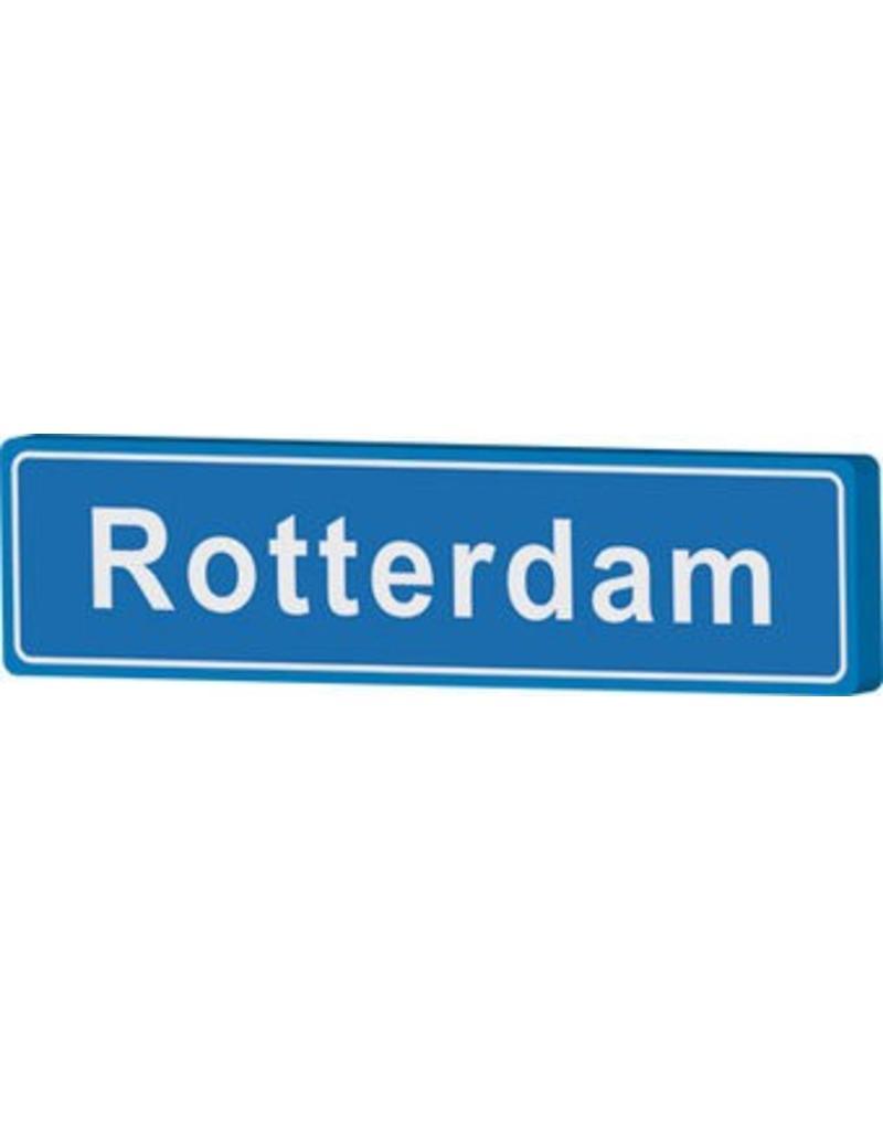Señal entrada a población Rotterdam