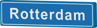 Panneau de ville Rotterdam