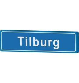 Señal entrada a población Tilburg