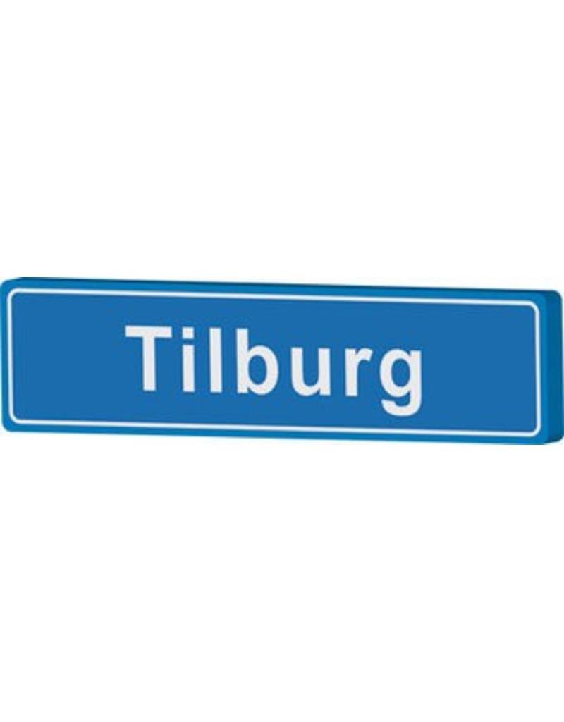 Town sign Tilburg