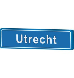 Town sign Utrecht