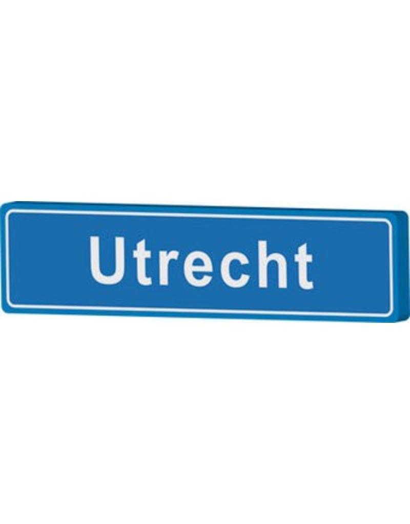 Town sign Utrecht