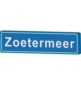 Zoetermeer panneau nom de ville