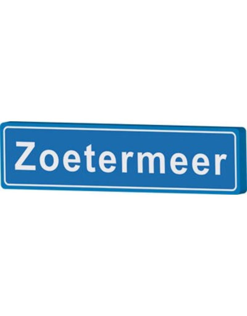 Zoetermeer plaatsnaambord