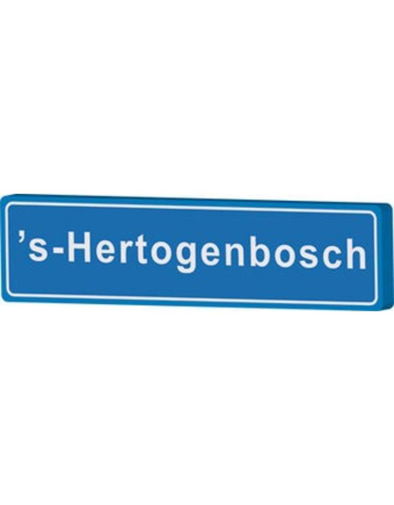 Señal entrada a población sHertogenbosch