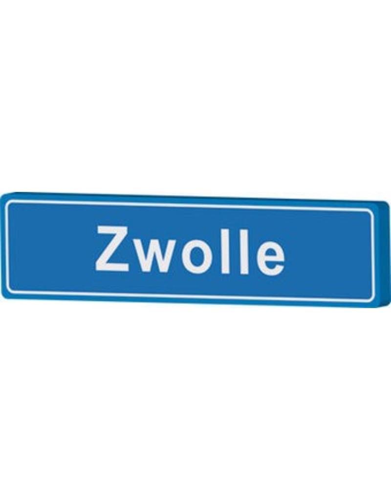 Señal entrada a población Zwolle