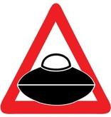 Auto sticker aliens