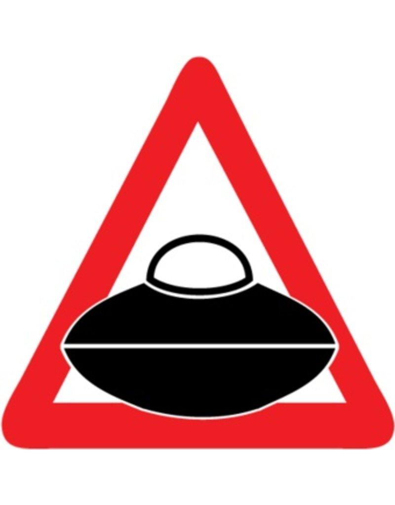 Pegatinas de coche UFO