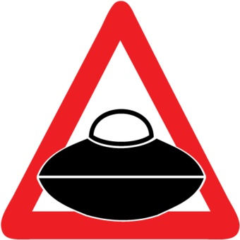 Car sticker aliens