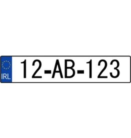 Ireland License Plate Sticker