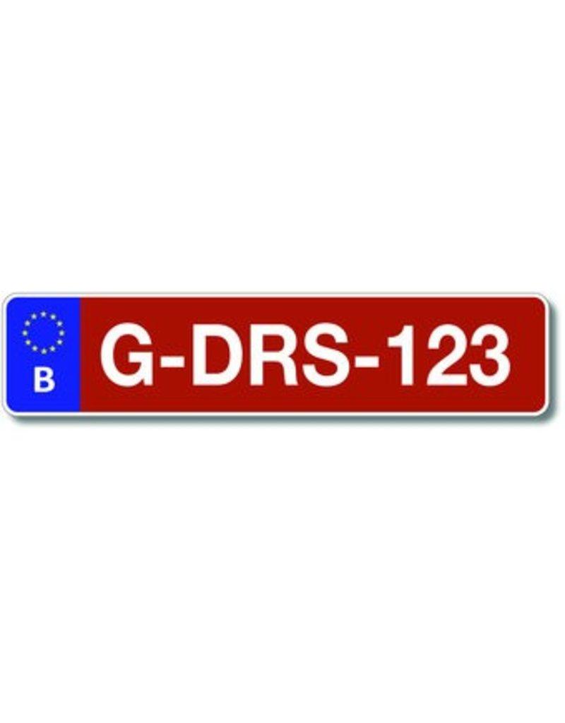 Belgium Number plate Landbouw