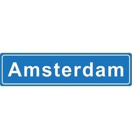 Amsterdam Ortsschild Sticker
