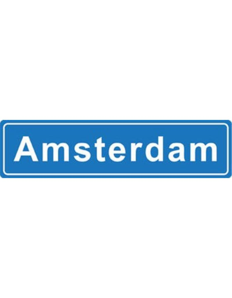 Amsterdam pegatina nombre de ciudad