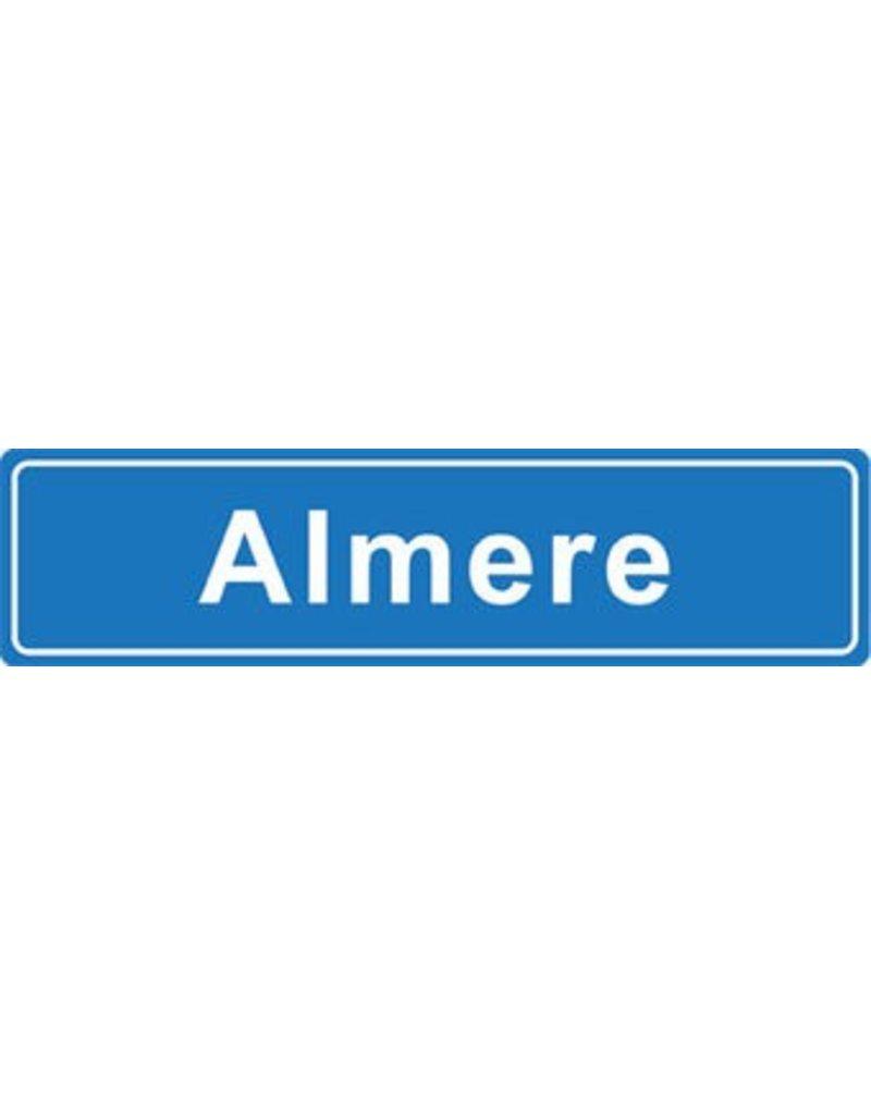Almere pegatina nombre de ciudad