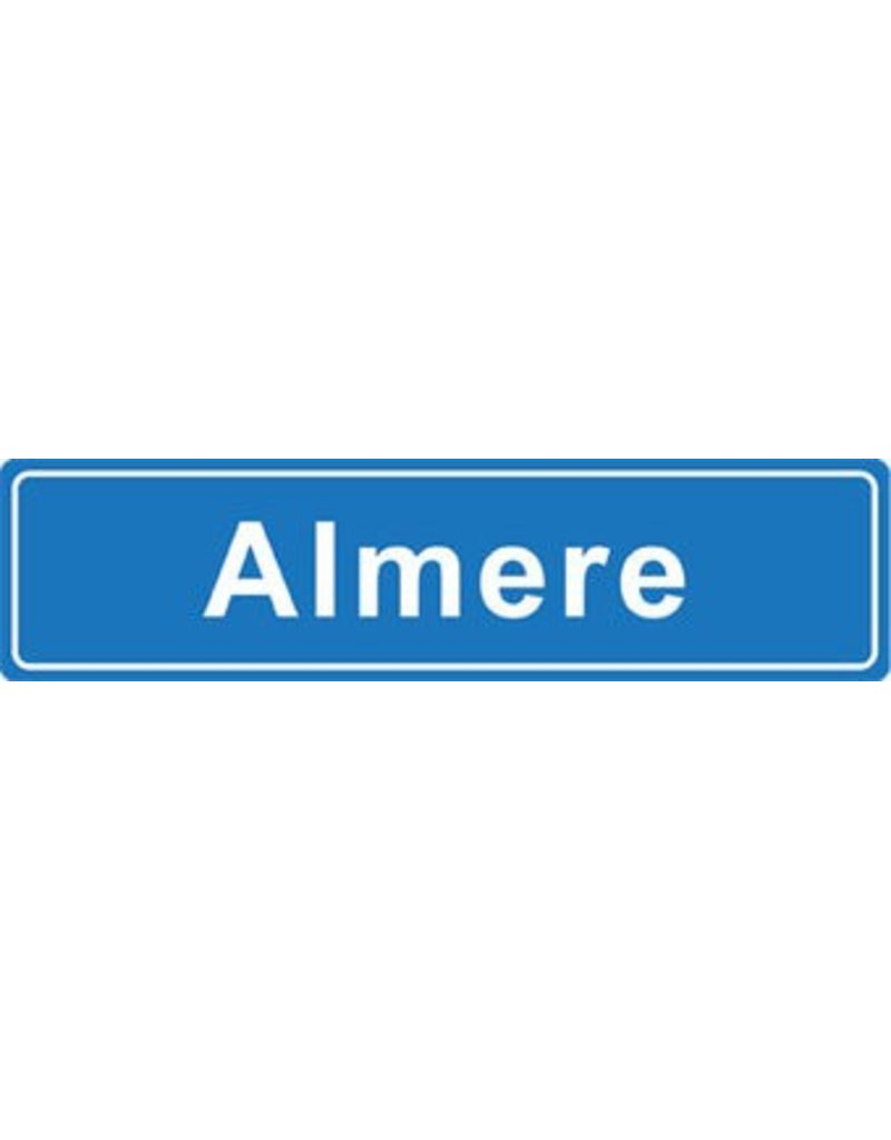 Almere plaatsnaam sticker