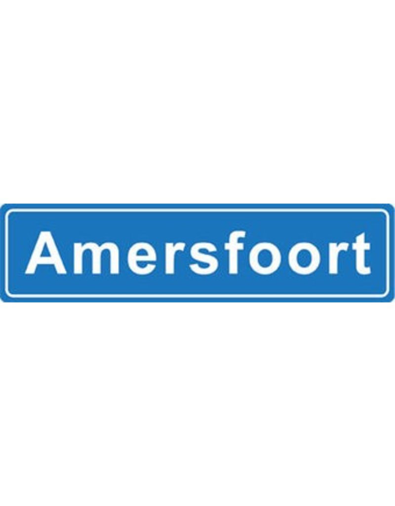 Amersfoort plaatsnaam sticker