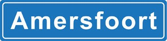 Amersfoort Ortsschild Sticker