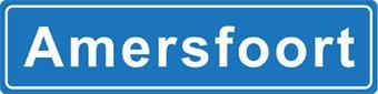 Amersfoort place name sticker