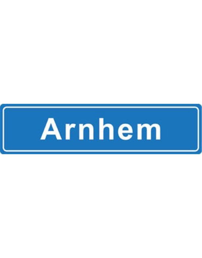Arnhem plaatsnaam sticker