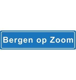 Bergen op Zoom autocollant nom de ville