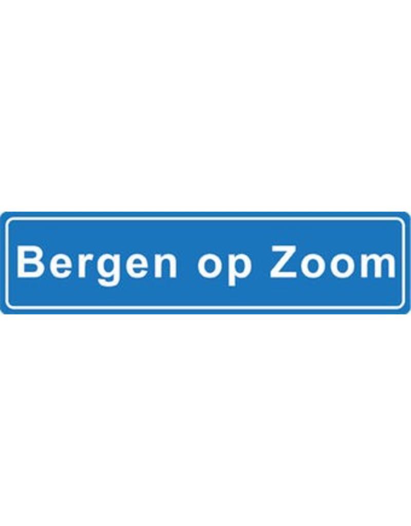 Bergen op Zoom Ortsschild Sticker