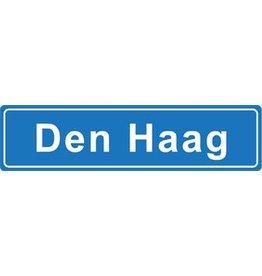 Den Haag pegatina nombre de ciudad