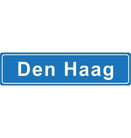 Den Haag place name sticker