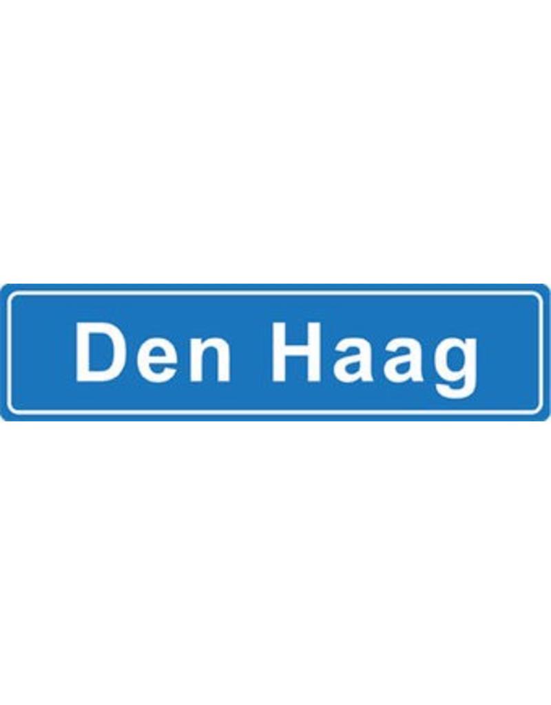 Den Haag Ortsschild Sticker