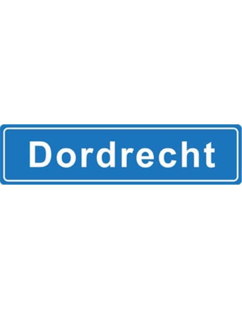Dordrecht pegatina nombre de ciudad