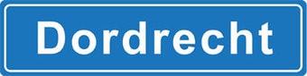 Dordrecht Ortsschild Sticker