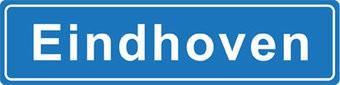 Eindhoven plaatsnaam sticker