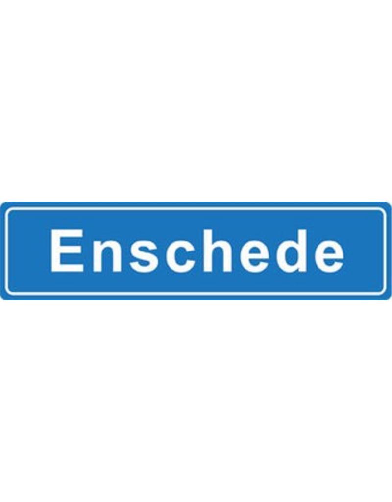 Enschede pegatina nombre de ciudad