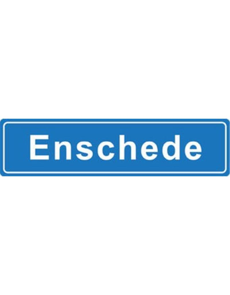 Enschede place name sticker