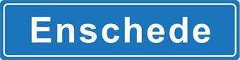 Enschede autocollant nom de ville