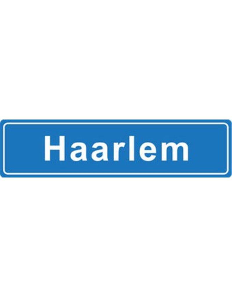 Haarlem pegatina nombre de ciudad