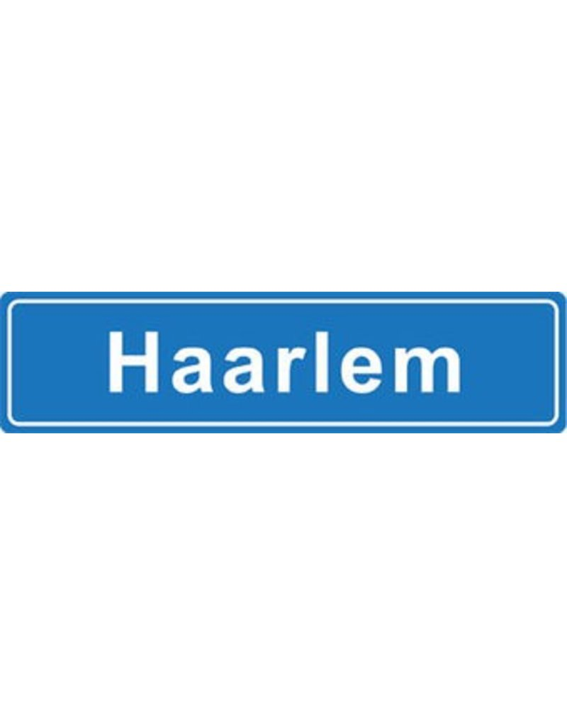 Haarlem place name sticker