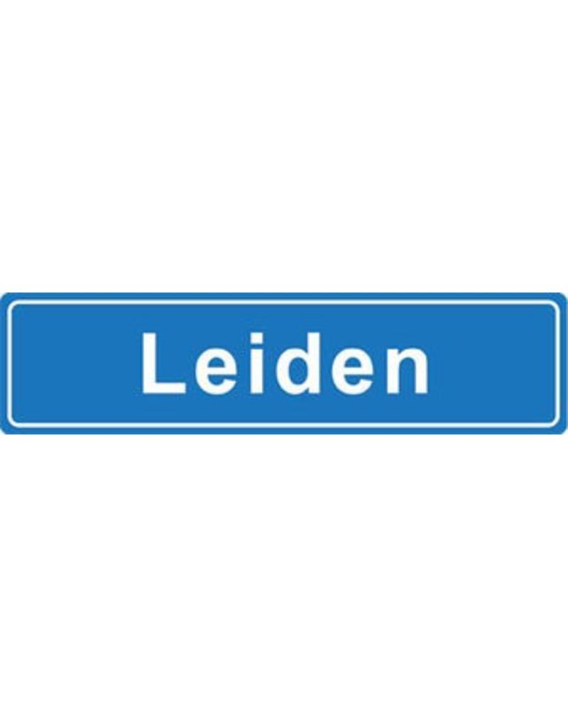 Leiden plaatsnaam sticker