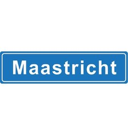 Maastricht pegatina nombre de ciudad