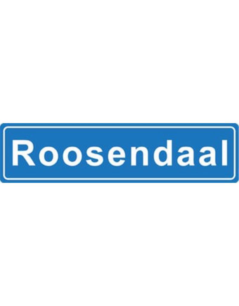 Roosendaal plaatsnaam sticker
