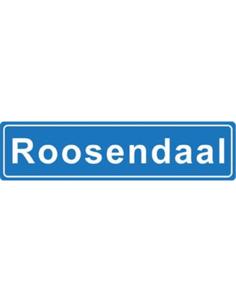 Roosendaal place name sticker